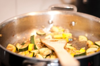 Summer squash cooking244