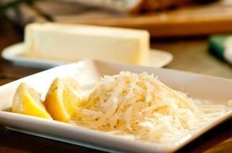 Lemon, Parmesan and Butter - can we go wrong?